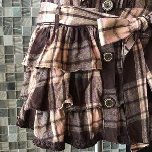 ffd292e2d liz lisa Dresses   Plaid Peter Pan Collar Bow Mini Dress S   Poshmark